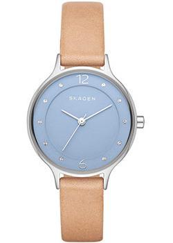 цена Skagen Часы Skagen SKW2471. Коллекция Leather онлайн в 2017 году