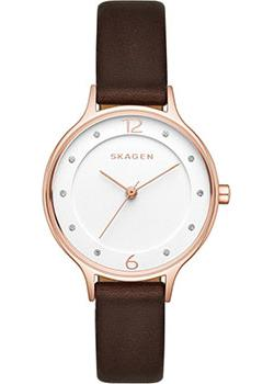 Skagen Часы Skagen SKW2472. Коллекция Leather skagen часы skagen skw6143 коллекция leather
