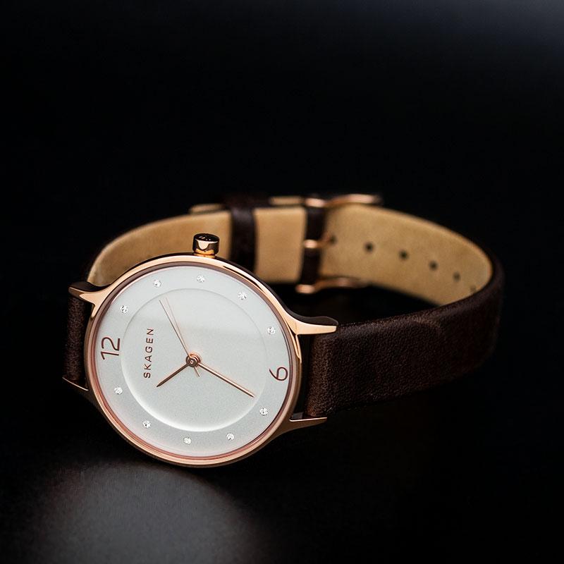 Женские часы Skagen SKW2472 Мужские часы Bisset BSCD13SABX