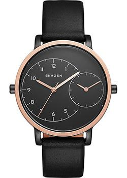 Skagen Часы Skagen SKW2475. Коллекция Leather skagen часы skagen skw6143 коллекция leather