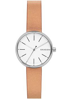 Skagen Часы Skagen SKW2594. Коллекция Leather skagen часы skagen skw2296 коллекция leather