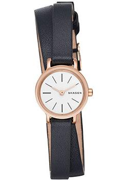 Skagen Часы Skagen SKW2598. Коллекция Leather skagen часы skagen skw6143 коллекция leather