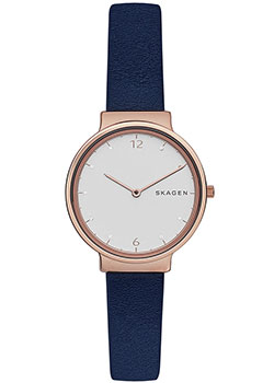 Skagen Часы Skagen SKW2608. Коллекция Leather stanley powerlock 5m 0 33 194 рулетка silver