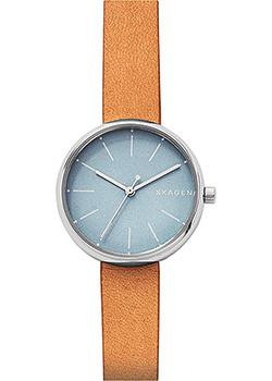 Skagen Часы Skagen SKW2620. Коллекция Leather skagen часы skagen skw2296 коллекция leather