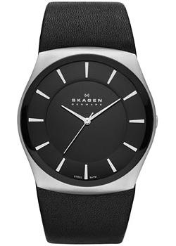 Skagen Часы Skagen SKW6017. Коллекция Leather часы nixon genesis leather white saddle