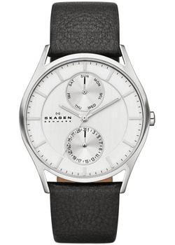 Skagen Часы Skagen SKW6065. Коллекция Leather skagen часы skagen skw6143 коллекция leather