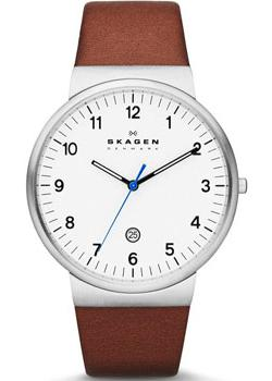 Skagen Часы Skagen SKW6082. Коллекция Leather часы nixon genesis leather white saddle