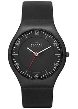 Skagen Часы Skagen SKW6113. Коллекция Leather skagen часы skagen skw6143 коллекция leather