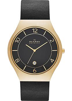 Skagen Часы Skagen SKW6145. Коллекция Leather часы nixon time teller deluxe leather navy sunray brow