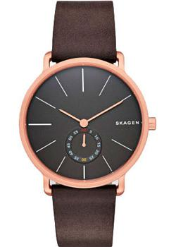 Skagen Часы Skagen SKW6213. Коллекция Leather skagen часы skagen skw6143 коллекция leather