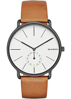 Skagen Часы Skagen SKW6216. Коллекция Leather bruno sohnle часы bruno sohnle 17 13073 281 коллекция pesaro
