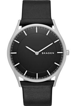 Skagen Часы Skagen SKW6220. Коллекция Leather skagen часы skagen skw6143 коллекция leather