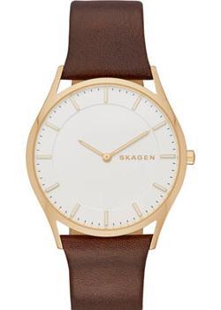 Skagen Часы Skagen SKW6225. Коллекция Leather skagen часы skagen skw2267 коллекция leather