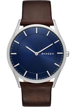 Skagen Часы Skagen SKW6237. Коллекция Leather часы nixon genesis leather white saddle