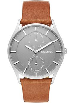 Skagen Часы Skagen SKW6264. Коллекция Leather skagen часы skagen skw2434 коллекция leather
