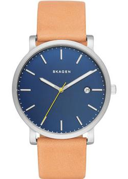 Skagen Часы Skagen SKW6279. Коллекция Leather skagen часы skagen skw6292 коллекция leather