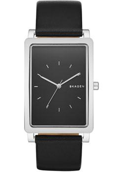 Skagen Часы Skagen SKW6287. Коллекция Leather skagen часы skagen skw6292 коллекция leather