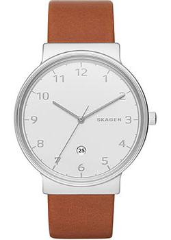 Skagen Часы Skagen SKW6292. Коллекция Leather skagen часы skagen skw6143 коллекция leather