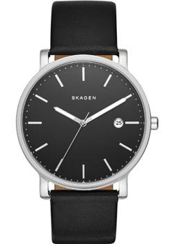 Skagen Часы Skagen SKW6294. Коллекция Leather skagen часы skagen skw2296 коллекция leather