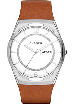 Skagen Часы Skagen SKW6304. Коллекция Leather часы nixon genesis leather white saddle