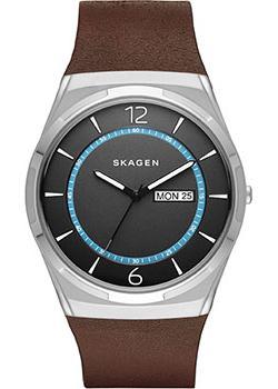 Skagen Часы Skagen SKW6305. Коллекция Leather