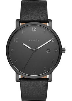 Skagen Часы Skagen SKW6308. Коллекция Leather skagen часы skagen skw6308 коллекция leather