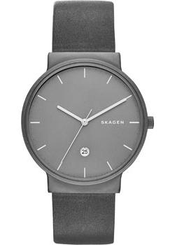 Skagen Часы Skagen SKW6320. Коллекция Leather skagen часы skagen skw2262 коллекция leather
