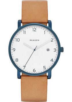 Skagen Часы Skagen SKW6325. Коллекция Leather at p co повседневные брюки