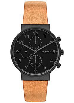 Skagen Часы Skagen SKW6359. Коллекция Leather valenta для samsung galaxy core lte g386f black