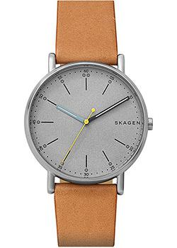 Skagen Часы Skagen SKW6373. Коллекция Leather skagen часы skagen skw6292 коллекция leather