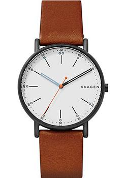 Skagen Часы Skagen SKW6374. Коллекция Leather skagen часы skagen skw6143 коллекция leather