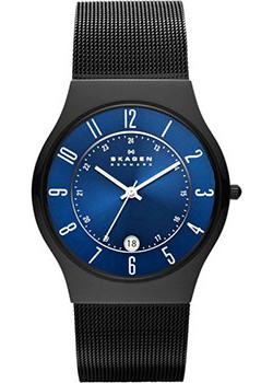 Skagen Часы Skagen T233XLTMN. Коллекция Mesh skagen ремни и браслеты для часов skagen skskw2267