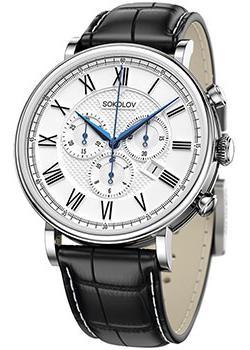 Sokolov Часы Sokolov 125.30.00.000.01.01.3. Коллекция Motion цена и фото