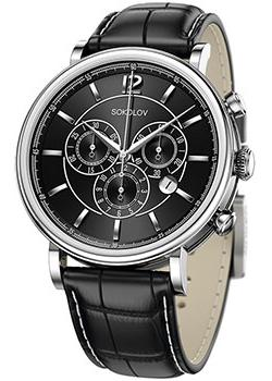 Sokolov Часы Sokolov 125.30.00.000.04.01.3. Коллекция Motion цена и фото