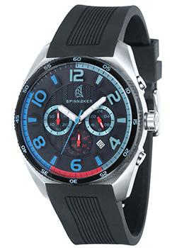 Spinnaker Часы Spinnaker SP-5022-0A. Коллекция REEF комплектующие для сигнализации 12v 2 0a