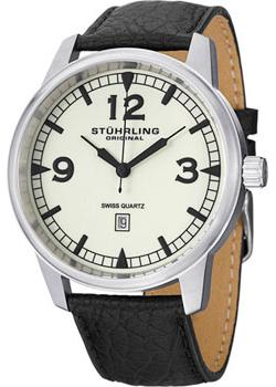 Stuhrling Original Часы Stuhrling Original 1129Q.02. Коллекция Aviator мужские часы stuhrling 1129q 02