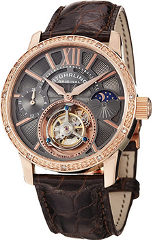������� ���� Stuhrling Original 296DS.3345X54. ��������� Tourbillon