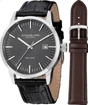 Stuhrling Original Часы Stuhrling Original 555A.02.SET. Коллекция Ascot II мужские часы stuhrling 746l set 01
