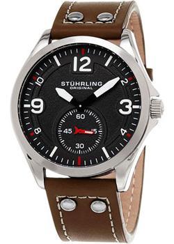 Stuhrling Original Часы Stuhrling Original 684.01. Коллекция Aviator цена и фото