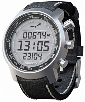 Suunto Умные часы Suunto ELEMENTUM TERRA p/black leather suunto d6i all black steel с трансмиттером