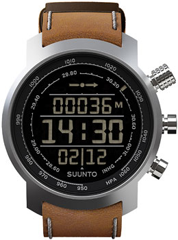 Suunto Умные часы Suunto ELEMENTUM TERRA n/brown leather часы спортивные suunto spartan sport wrist hr all black цвет черный
