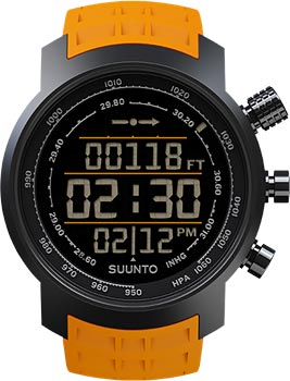 Suunto Умные часы Suunto ELEMENTUM TERRA n/amber rubber suunto умные часы suunto elementum terra n black yellow leather