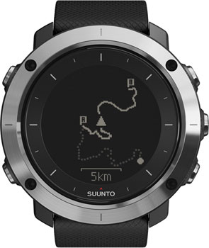 Suunto Умные часы Suunto TRAVERSE BLACK suunto d6i all black steel с трансмиттером