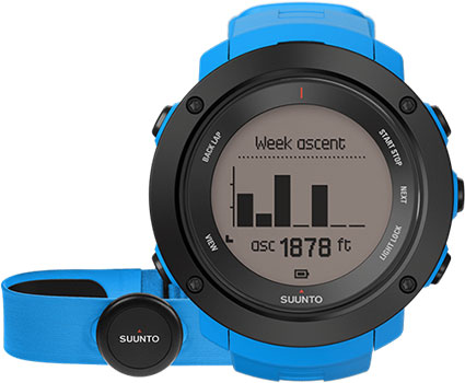 Suunto Умные часы Suunto SS021968000. Коллекция Ambit3 смарт часы suunto ambit3 vertical hr синий ss021968000