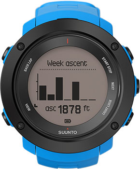 Suunto Умные часы Suunto SS021969000. Коллекция Ambit3 смарт часы suunto ambit3 vertical hr синий ss021968000
