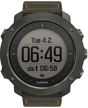Suunto Умные часы Suunto TRAVERSE ALPHA STEALTH часы suunto в финляндии