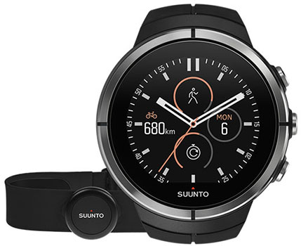 Suunto Часы Suunto SPARTAN ULTRA BLACK HR suunto bike sensor