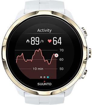 Suunto Часы Suunto SPARTAN SPORT WRIST HR WHITE GOLD умные часы suunto spartan sport wrist hr copper