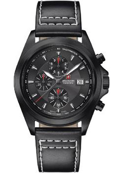 купить Swiss military hanowa Часы Swiss military hanowa 06-4202.1.30.030. Коллекция Infantry Chrono по цене 31200 рублей