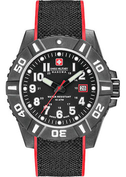 Часы Swiss Military Hanowa Black Carbon 06-4309.17.007.04